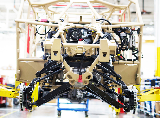 Vehicle system development to complete vehicle assembly