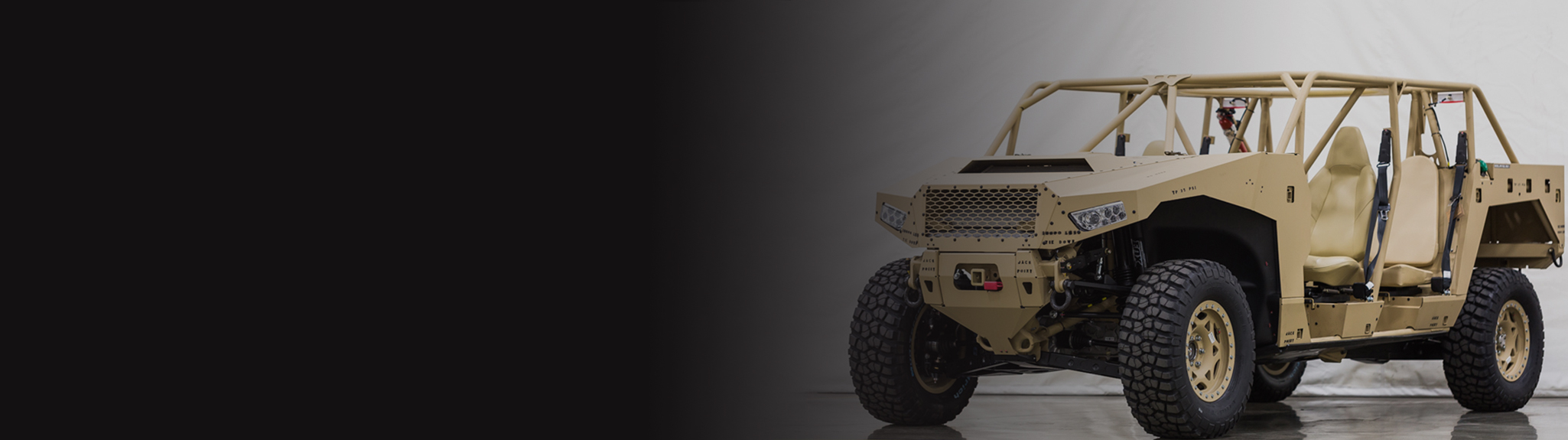 All New Military Off-road Vehicle