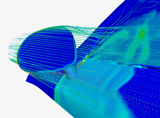Using CFD to study the buildup of water film and spray-soiling of glass on a vehicle side mirror