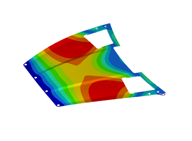 Composite layup modeling and failure analysis